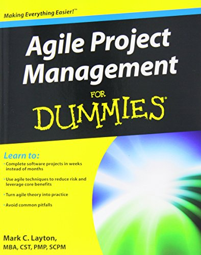 Agile Project Management For Dummies by Mark C. Layton (4-May-2012) Paperback