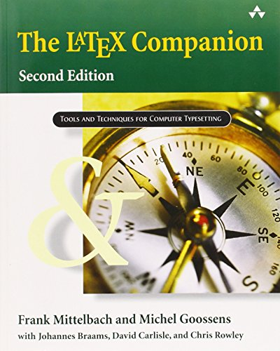The LaTeX Companions Third Revised Boxed Set: A Complete Guide and Reference for Preparing,  Illustrating and Publishing Technical Documents (Tools and Techniques for Computer Typesetting)