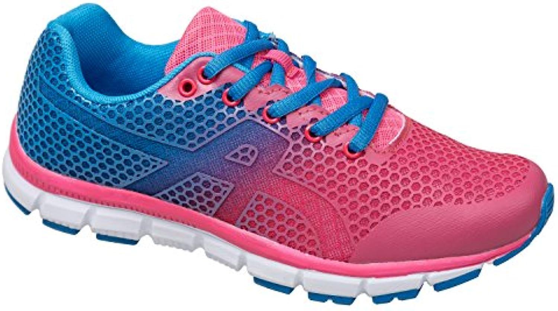 gibra Damen Sportschuhe Sehr Leicht und Bequem Pink/Blau Gr. 36-41