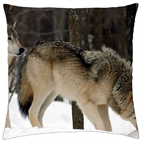 Wolfpack - Throw Pillow Cover Case (18\
