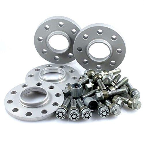 TuningHeads/H&R .0438403.DK.957161-15-23.BOXSTER-986 ABE Spurverbreiterung, VA 30 mm/HA 46 mm + Radschrauben + Felgenschlösser