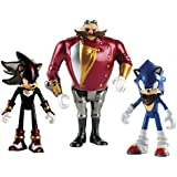 Sonic the Hedgehog Boom 3 pulgadas Diorama / Knuckles / Eggman y Tether Figura