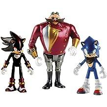 Sonic the Hedgehog Boom 3 pulgadas Diorama / Knuckles / Eggman y Tether Figura