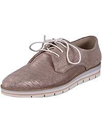 Schuhzoo - Zapatos de cordones para mujer , color negro, talla 40 EU