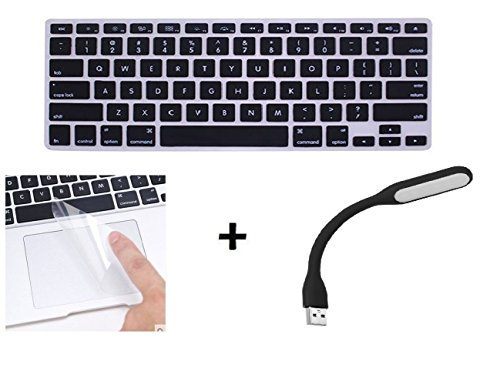 Crystal Guard Tpu Soft Silicone Keyboard Case Cover Protector For Apple Macbook Air 13