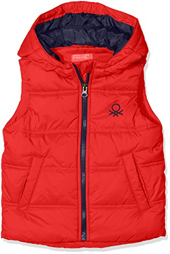 united-colors-of-benetton-waistcoat-chaleco-para-ninas-rojo-red-10-11-anos-talla-del-fabricante-x-la