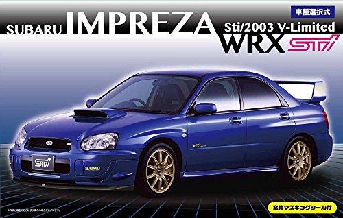 1/24 pollici fino serie No.103 Subaru Impreza
