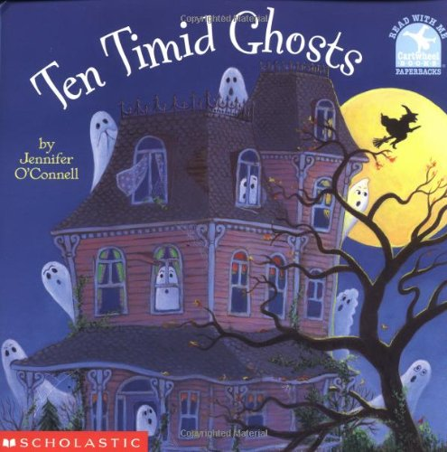 Ten Timid Ghosts Read with Me Cartwheel Books Scholastic