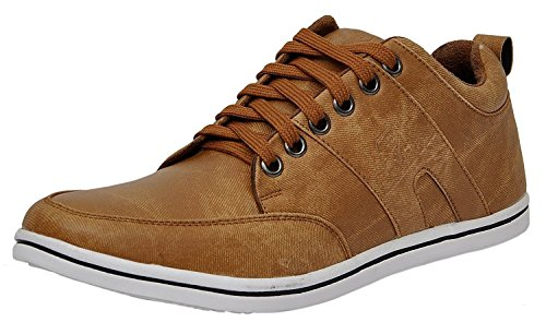Shoes T99 Men's Tan Casual Shoes (10) available at amazon for Rs.149