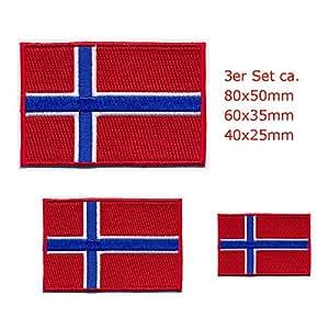 3 Oslo norvège norvège drapeau patch patch patch 0649 stickers