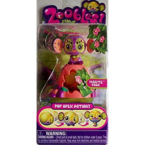Zoobles Toy Petagonia Animal Mini Figure #6 Monte by Zoobles