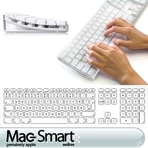 Apple Pro DANISH Keyboard wireless A1016 by MacSmartOnline