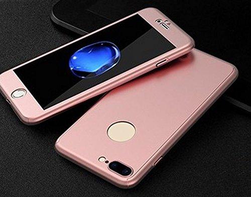 Hosaire 1x Handy Schalen Taschen Hülle für Apfel iphone,Mode Golden/Rose Phone Case Back Cover Rose