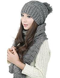 l'atteggiamento migliore dd601 2c2e6 Amazon.it: cappello e sciarpa donna - Sciarpe / Sciarpe e ...
