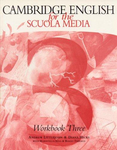 Cambridge English for the Scuola Media 3 Workbook