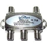 Conmutador DiSEqC 4x1 950-2300 MHz satélite Interruptor 2.0 SatIntegral T-42