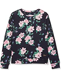 Gant Flower Crew Sweatshirt, Sweat-Shirt Fille