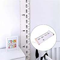 Kids Growth Chart, Childrens Hanging Height Wall Ruler Height Measurement Wall Decor Photography Props Large Measuring Tape for Baby Infant Kids Toddlers Girls Boys