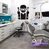 yaoxingfu Zahnbürste Zähne Aufkleber Zahnklinik