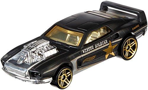 Mattel Hot Wheels DJK75 - Vehículos Capitán Ameríca, modelos surtidos, 1 unidade