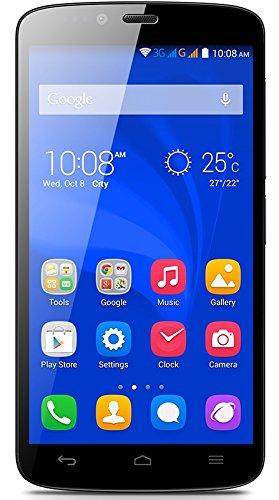 Foto Honor Holly Smartphone (5 pollici, Touchscreen, Quad-Core, 1GB RAM, 16GB ROM, fotocamera principale da 8MP, fotocamera frontale da 2MP, Android 4.4, Emotion Laucher) Nero