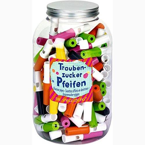 Spiegelburg 12554 Traubenzucker Pfeifen Bunte Geschenke, sortiert-Preis für 1 Stück Aroma Pfeife
