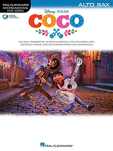 Disney Pixar's Coco: Instrumental Play-Along For Alto Saxophone (Book/Audio)