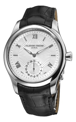 Frederique Constant Maxime Manufacture FC-700MS5M6 42mm Automatic Stainless Steel Case Black Leather Anti-Reflective Sapphire Men's Watch
