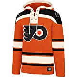 '47 Brand Philadelphia Flyers Lacer Jersey Hoodie NHL Sweatshirt, M