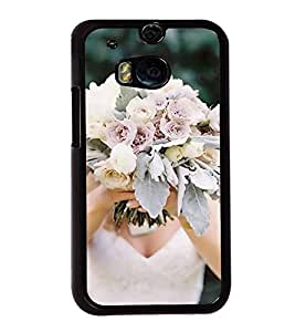 ifasho Designer Back Case Cover for HTC One M8 :: HTC M8 :: HTC One M8 Eye :: HTC One M8 Dual Sim :: HTC One M8s (Bauhinia Variegata Rose Gold Lakme Rose Powder Advance Develop Mellow Grow)