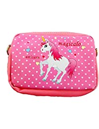 Oytra Sling Bags For Kids Girls | Unicorn Printed Stylish | Water Proof | Gift