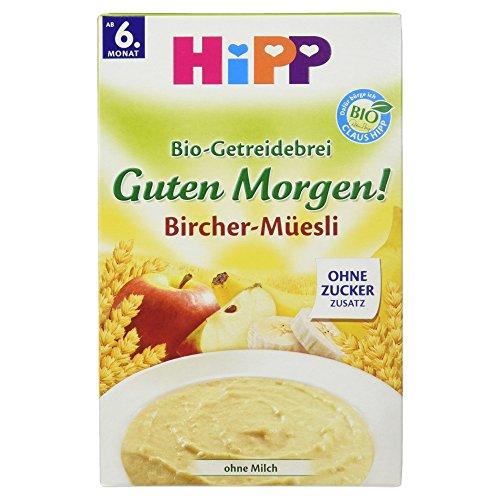 Hipp Guten Morgen! Bio-Getreidebrei Bircher-Müesli, 250 g