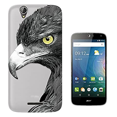 C0797 - Cool Beautiful Birds Of Prey Eagle Yellow Eyes Bird Watching Design Acer Liquid Z630 Z630S Fashion Trend Protecteur Coque Gel Rubber Silicone protection Case Coque