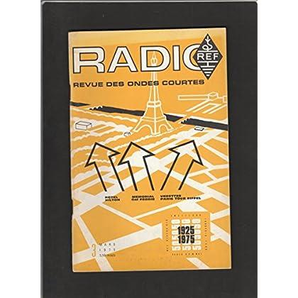 Radio REF [No 3 de Mars 1975] Revue des ondes courtes