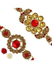 Jaipur Mart Ethnic Collection Beaded Bracelet for Men (Multi-Colour)(RKH16CMB)