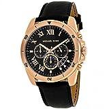 Michael Kors Best Deals - Michael Kors Brecken Analog Black Dial Men's Watch-MK8544