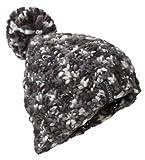 Marmot Damen Mütze Frosty Pom, Damen, 18550-001-ONE, Schwarz, Einheitsgröße