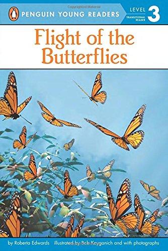 Flight of the Butterflies (All Aboard Reading: Level 2)
