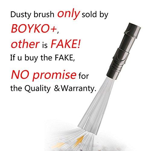Dust Cepillo para Aspiradora Universal Removedor de Suciedad Herramienta Limpieza de Vacío (Gris)
