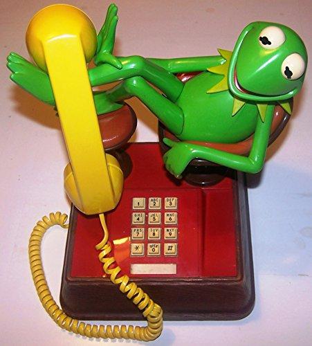 *Vintage* DISNEY MUPPET SHOW analoges Telefon aus
