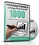 Präsentieren mit fertigen Handzeichnungen - 1000 überzeugende (Apple) Keynote Präsentationsobjekte -: Business & Marketing Edition - Für Mac