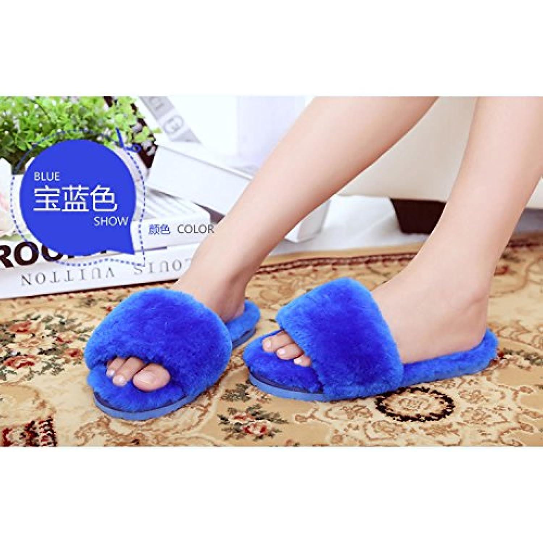 LaxBa L'hiver au au au chaud, l'hiver Chaussons Chaussons moelleux Accueil chaleureux en hiver, chaussures - B077XVJS8S - 4ce5e9