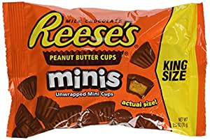 American Reese's peanut Butter Cup Mini's: 70g Bag
