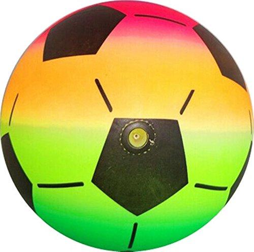 stoff Plastik Kunststoffball Kinder Ball Wasser Bunt Mädchen Jungen ()