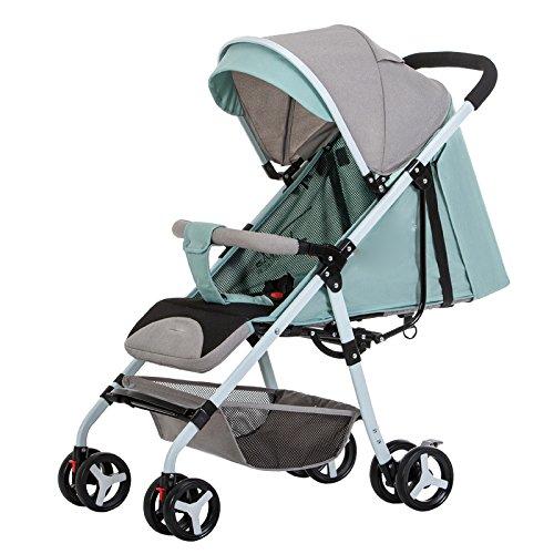 LZTET Kinderwagen Sunshade Sonnenschirm Für Sportkinderwagen und Autositz Weitsonnenschutz UV-Cut und Einfache Installation
