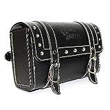#8: Vheelocityin Square Saddle Bag for Royal Enfield (Black, M)