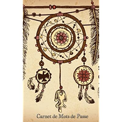 Carnet de Mots de Passe: A5 - 98 Pages - 094 - Boho - Dream Catcher