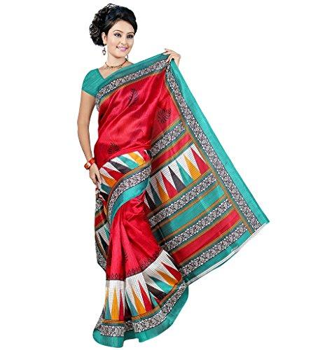 Fancy Desginer Bhagalpuri Silk Sarees With Blouse GF22