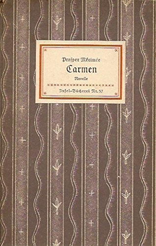 Carmen (Insel-Bücherei Nr. 57)