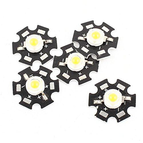 sourcingmapr-5pz-1w-30-36v-350ma-giallo-90lm-led-fanale-emettitore-perlina-20mm-base